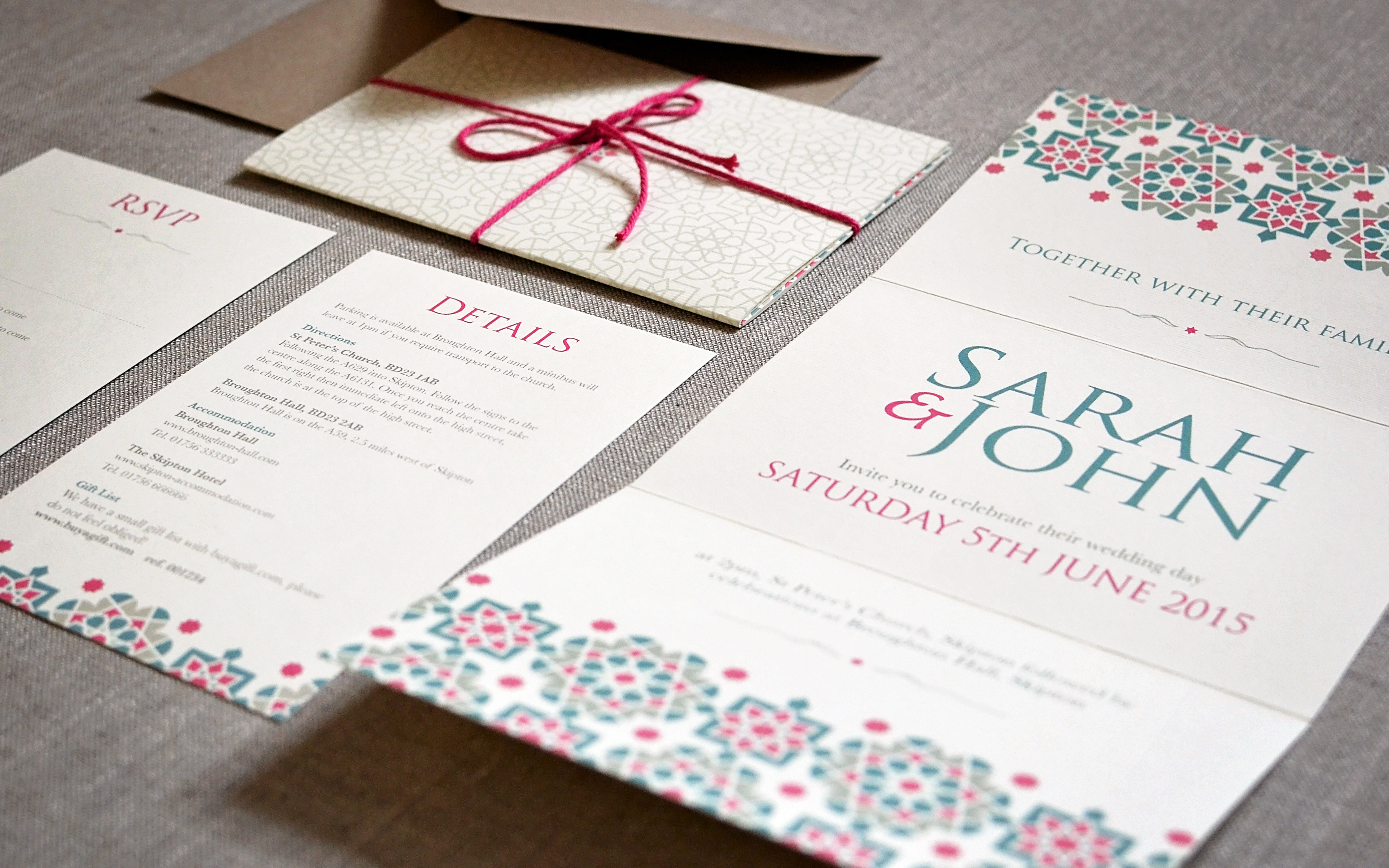 Top 5 wedding themes for 2015 (and stationery to match!) – Paper ...