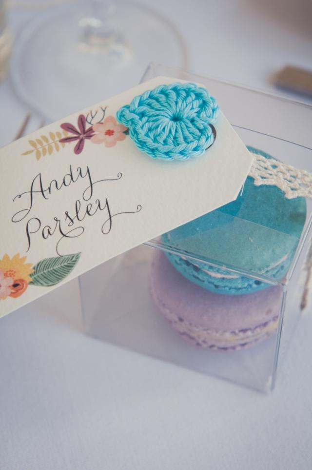 Wedding favours handmade