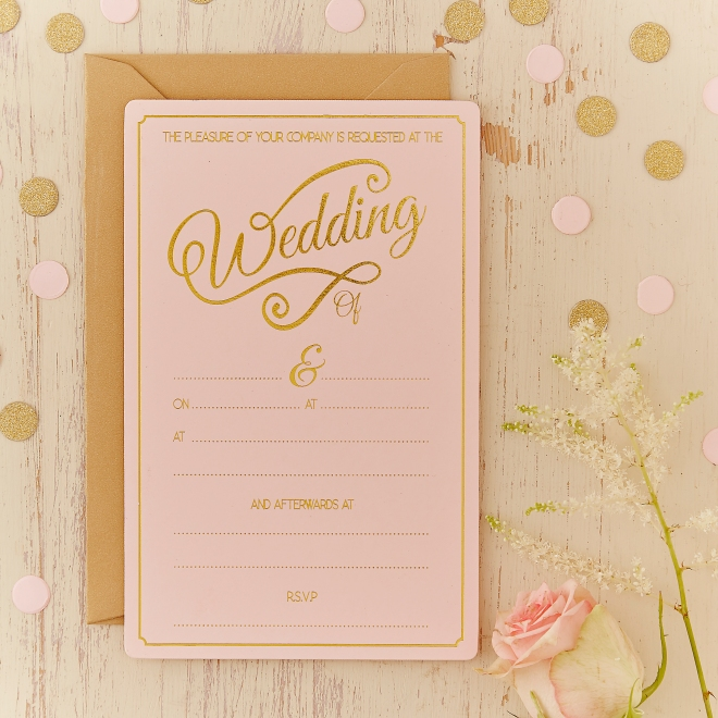 Hobbycraft new wedding stationery
