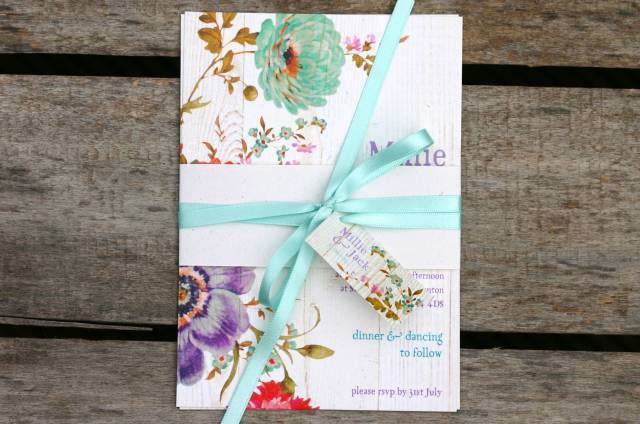 Millie invitation, Ivy Ellen, from £1.95