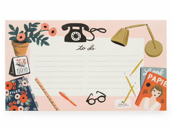 Rifle Paper Co everyday notepad, Papermash £7.50