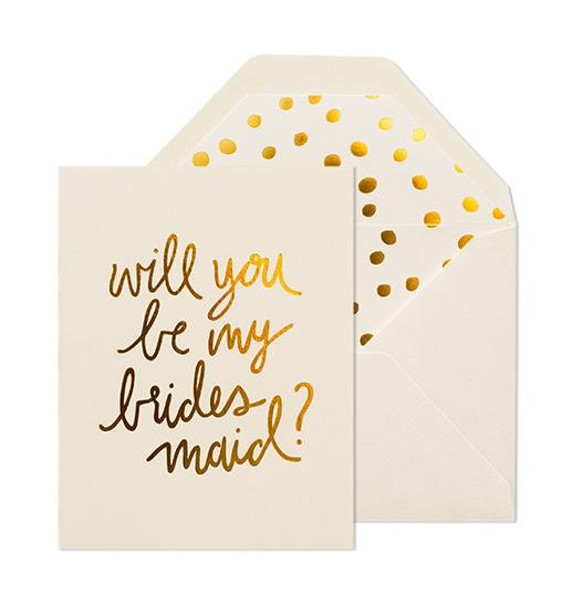 Sugar Paper bridesmaid card, £4.80