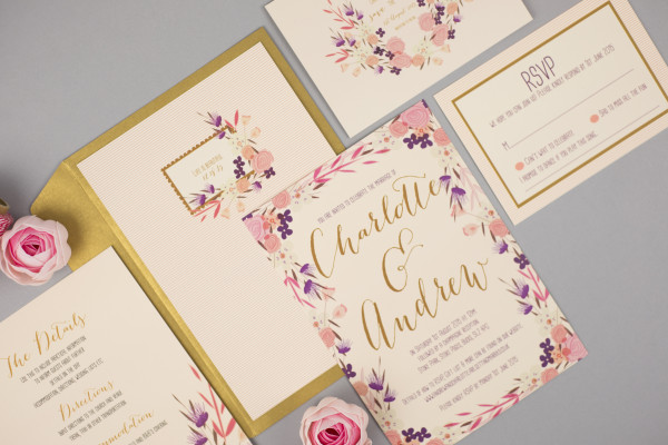 Geri loves Emi wedding stationery