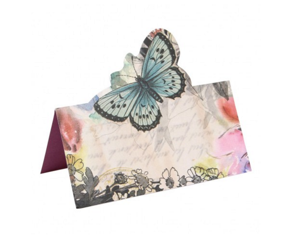 Pop-up butterfly place cards, Paperchase