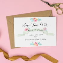 Wildflower Save The Date (3)